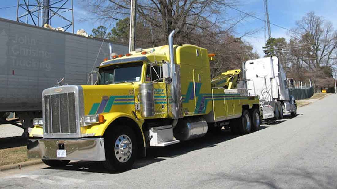 Commercial Truck & Semi Towing Greensboro