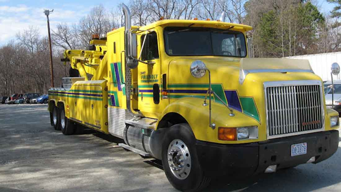 heavy truck towing greensboro